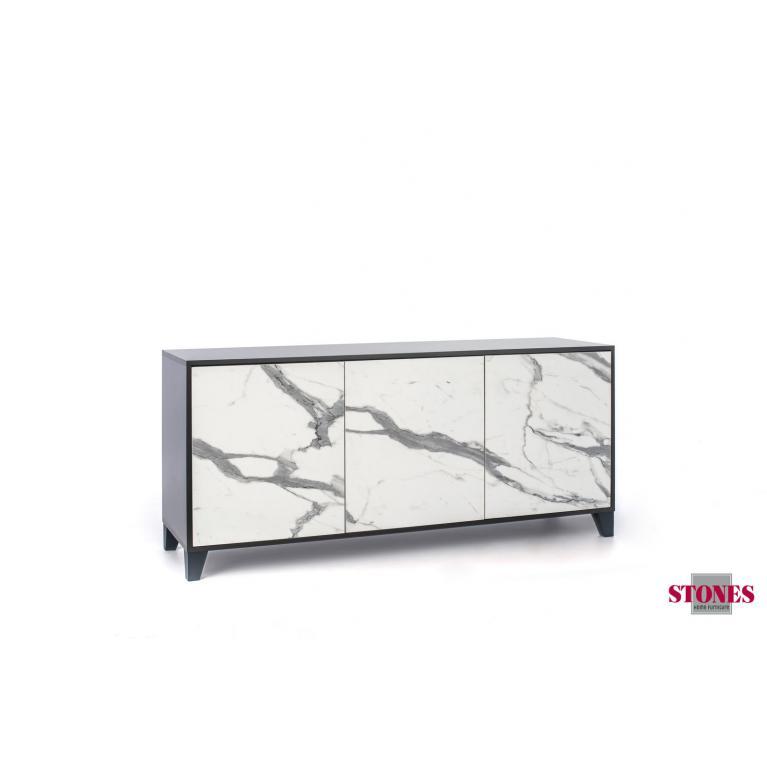 madia 3 ante (165 x 76 h cm) stones rea