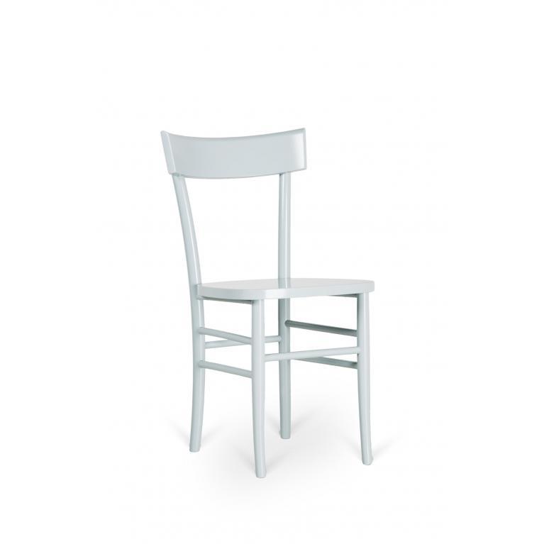 sedia in legno laccato stones brera