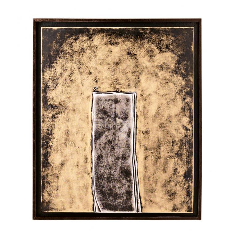olio su tela (100 x 120 cm) stones