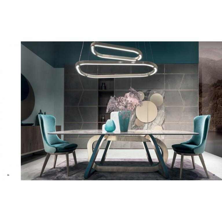 Sedia Robin luxury imbottita soggiorno