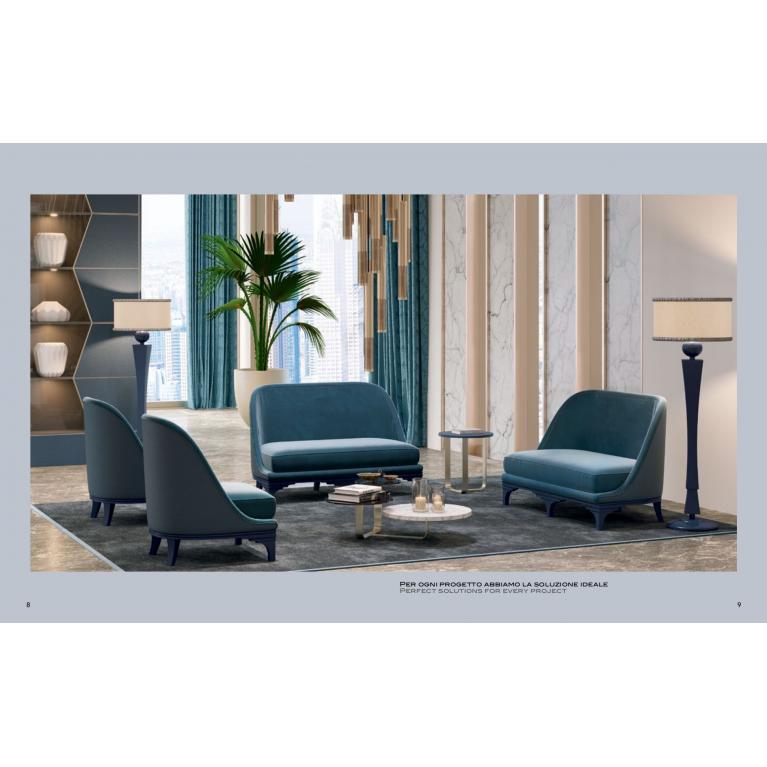 Divano soggiorno-camera luxury
